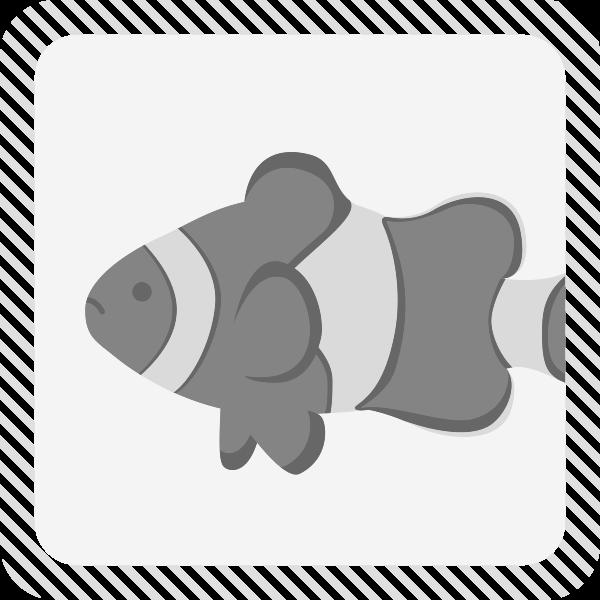 カテゴリー魚クマノミのイラスト