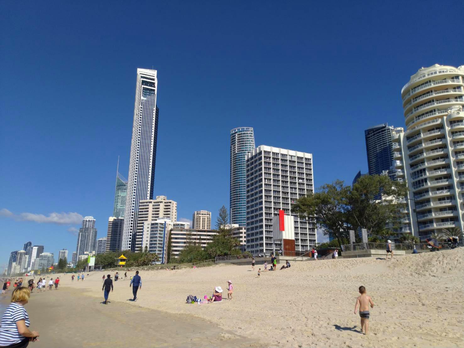 街からすぐ海に行ける「オーストラリア」